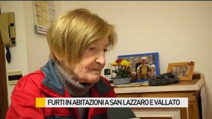 Furti in abitazioni a San Lazzaro e Vallato – VIDEO