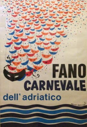 In mostra al Teatro della Fortuna i manifesti storici del Carnevale di Fano