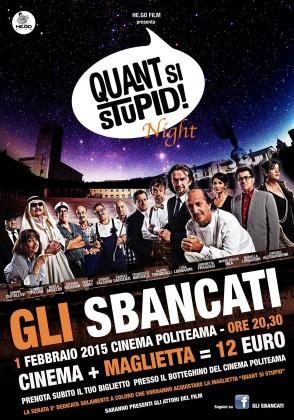 """""""Quant si stupid night"""": una serata dedicata all'evento cinematografico che ha risvegliato l'amore per Fano"""