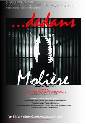 """""""Dedans … Molière"""":  il Teatro nel Carcere di Fossombrone"""