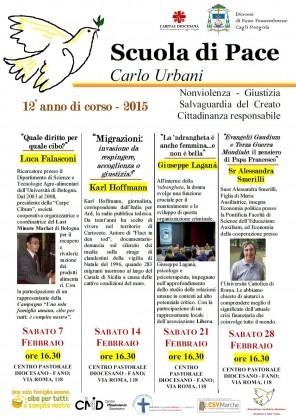 """Scuola di Pace """"Carlo Urbani"""", ecco gli appuntamenti del dodicesimo anno di corso"""