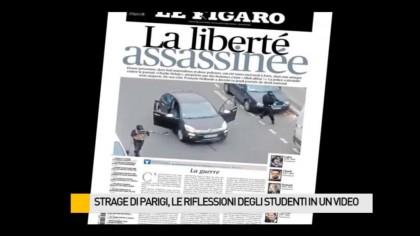 Strage di Parigi, le riflessioni degli studenti – VIDEO
