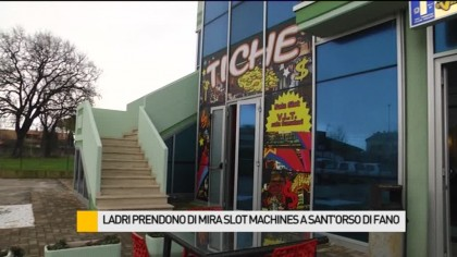 Ladri prendono di mira slot machine a Sant'Orso di Fano – AVIS