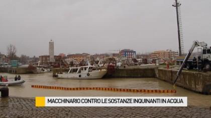 Macchinario contro le sostanze inquinanti messo a disposizione dal CB Club Mattei – VIDEO