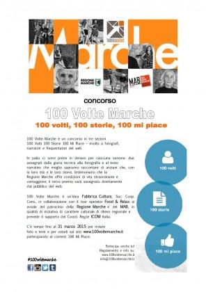 Fabbrica Cultura, Food Relax e Memo promuovono il territorio con il concorso 100 Volte Marche