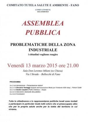 Problematiche della zona industriale, venerdì assemblea pubblica