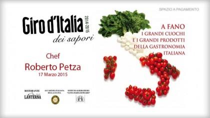 Giro d'Italia dei Sapori – Chef Roberto Petza