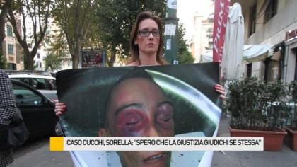 """Caso Cucchi, sorella: """"Spero che la giustizia giudichi se stessa"""" – VIDEO"""