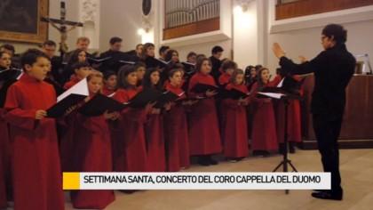 Settimana Santa, concerto del Coro Cappella Musicale del Duomo di Fano – VIDEO
