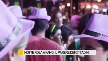 """""""Notte Rosa"""" a Fano, il parere dei cittadini – VIDEO"""