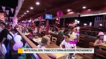 """Notte Rosa, Seri: """"Fano c'è e torna ad essere protagonista"""" – VIDEO"""