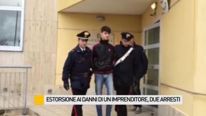 Estorsione ai danni di un imprenditore, due arresti – VIDEO
