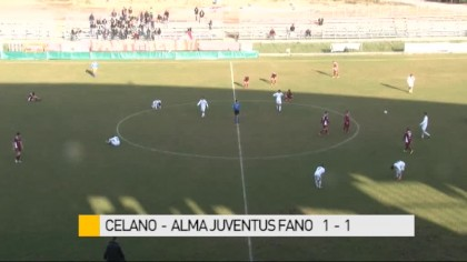 Celano – Alma Juventus Fano    1-1  – VIDEO