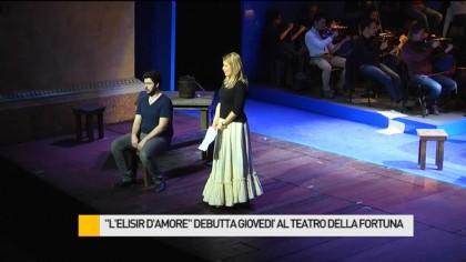 """""""L'Elisir d'Amore"""" debutta domani al Teatro della Fortuna – VIDEO"""
