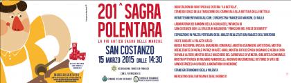 201^ Sagra Polentara di San Costanzo, domenica 15 marzo