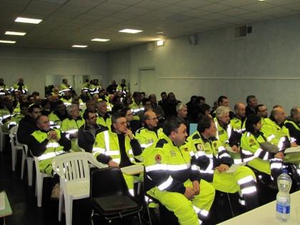 A Cartoceto l'incontro di tutta la Protezione Civile di Pesaro Urbino