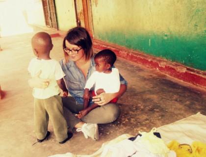 Clarice Ciarlantini, ostetrica fanese in Zambia per aiutare i bambini