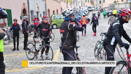 Cicloturistica Internazionale: 200 ciclisti in arrivo a Cartoceto – VIDEO