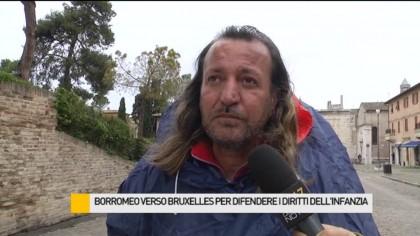 Borromeo verso Bruxelles per difendere i diritti dell'infanzia -VIDEO
