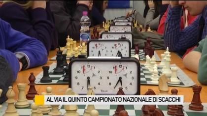 Al via il quinto Campionato Nazionale di Scacchi – VIDEO