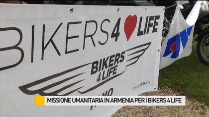Missione umanitaria in Armenia per i Bikers 4 Life – VIDEO