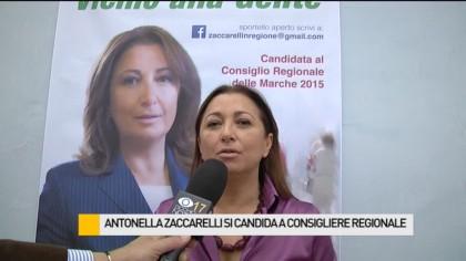 Antonella Zaccarelli si candida a consigliere regionale – VIDEO