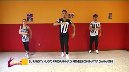 Su FanoTV un programma di fitness con Mattia Diamantini – VIDEO
