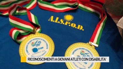 Riconoscimenti a giovani atleti con disabilità – VIDEO