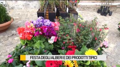 """Grande successo per la """"Festa degli Alberi e dei Prodotti Tipici"""" – VIDEO"""
