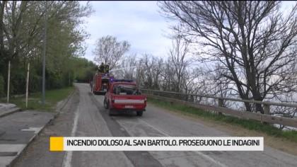 Incendio al San Bartolo, proseguono le indagini – VIDEO