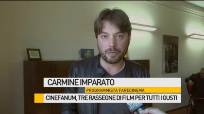 Cinefanum, tre rassegne di film per tutti i gusti – VIDEO