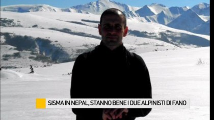 Sisma in Nepal, stanno bene i due alpinisti di Fano – VIDEO