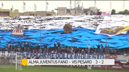 Derby Alma Juventus Fano – Vis Pesaro 3-2 – VIDEO
