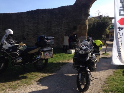 Partenza Bikers For Life