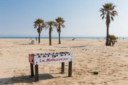 Foto di Paolo Giommi - La spiaggia di Rimini