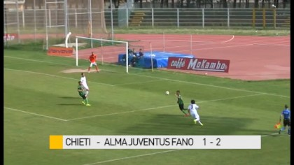 Chieti  –  Alma Juventus Fano     1-2 – VIDEO