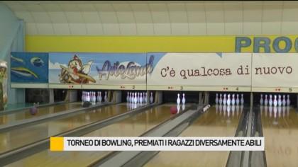 Torneo di bowling, premiati 50 diversamente abili – VIDEO