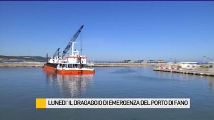 Promessa mantenuta: lunedì il dragaggio del porto di Fano – VIDEO