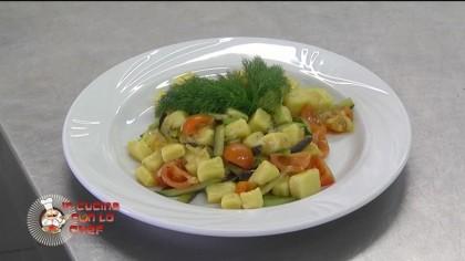 In Cucina con lo Chef – Gnocchi di polenta con verdure – p1