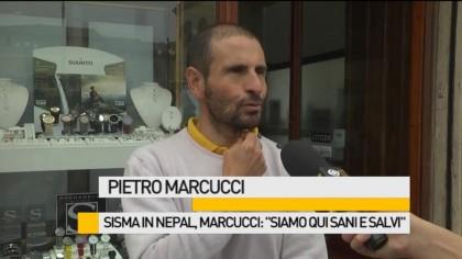 """Sisma in Nepal, Marcucci: """"Siamo qui sani e salvi"""" – VIDEO"""