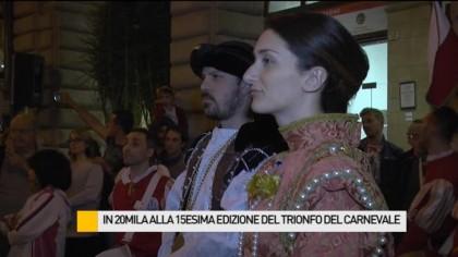 Grande successo per la 15esima edizione del Trionfo del Carnevale – VIDEO