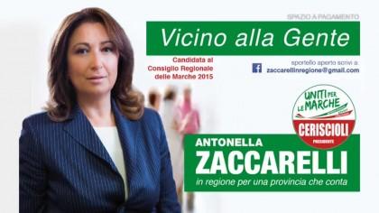 Presentazione della candidata Antonella Zaccarelli