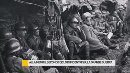 Alla Memo il secondo ciclo di incontri sulla Grande Guerra – VIDEO