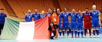 E' bronzo per l'Italia ai Mondiali di calcio a 5 ipovedenti