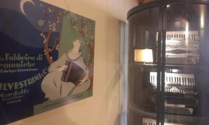 Nuova acquisizione al museo della fisarmonica di Mondolfo