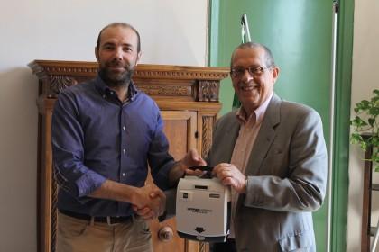 """Al """"Battisti"""" di Fano consegnati due defibrillatori"""