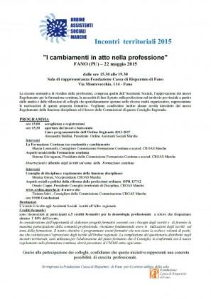"""Assistenti sociali e """"I cambiamenti in atto nella professione"""": venerdì un convegno"""