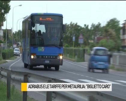 """Adriabus e tariffe per Metaurilia, la protesta: """"Bigiletto caro"""" – VIDEO"""