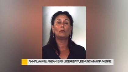 Ammaliava gli anziani e poi li derubava, denunciata una 44enne – VIDEO