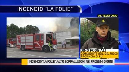 """Incendio """"La Folie"""", Altri sopralluoghi nei prossimi giorni – VIDEO"""